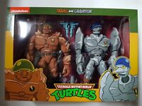 Traag and Granitor Teenage Mutant Ninja Turtles NECA TMNT 2-Pack  Brand New