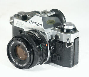 CANON AE-1 PROGRAM SPIEGELREFLEXKAMERA SLR MIT CANON 50 MMOBJEKTIV