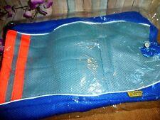 New listing L.D. Dog Cooling Vest ~ Large ~ Blue Orange Stripe ~ Cool Dog New Fast Shipping