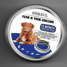 Goraul New In Sealed Package Dog Flea & Tick Collar 12 Month One Of The Best