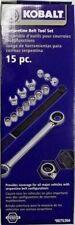 Kobalt 23949 15 Piece Serpentine Belt Tool Set