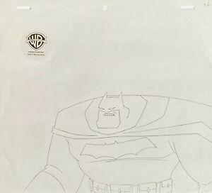 BRUCE TIMM rare BATMAN Drawing Bust LEGENDS OF THE DARK KNIGHT Miller BTAS COA