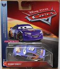 DISNEY PIXAR CARS 2018 PISTON CUP RACERS BOBBY SWIFT