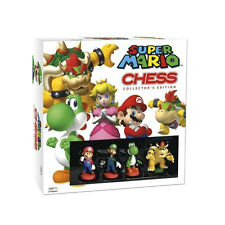 Brand New Super Mario Chess Collector's Edition Board Game Ages 5+ USAopoly