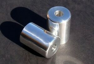 Bar Ends Sliders Suzuki Hayabusa GSXR TL1000S Katana SV650 SV1000 SRAD Polished