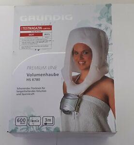 Grundig HS6780 Sèche-cheveux casque séchoir argent/vert clair métallisé (A)