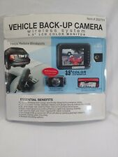 "Winplus Vehicle Back-Up Camera Wireless System 3.5"" LCD  Monitor"