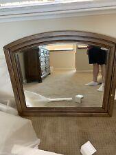 Solid Wood Mirror 42w X37h X2l