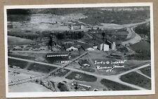 RPPC Star Lake NY Adirondacks Jones & Laughlin Benson Mines Postcard 1930's