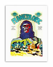 FILM PLANET OF THE APES FOREIGN NEW Vintage Canvas art Prints