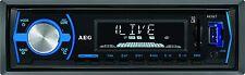 AEG ar 4030 Bluetooth USB SD mp3 autoradio PLL-sintonizador RDS aux-en memoria transmisor