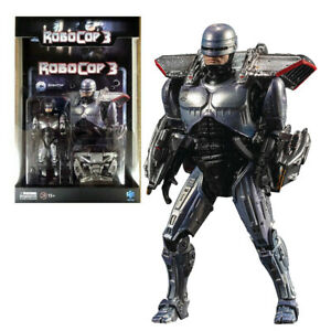 """Hiya Robocop w Jetpack 4"""" Action Figure 1:18 Scale 2021 Mini Series Official"""
