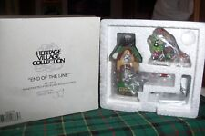 DEPT 56 END OF THE LINE #56370 NORTH POLE VILLAGE / RETIRED NIB