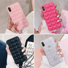 Cover Shockproof For iPhone XS Max X 7 8 Plus  3D Silicone Bumper Soft Case