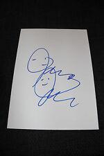 JERMAINE JACKSON signed Autogramm auf 20x30 cm Karteikarte InPerson LOOK