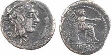 M. Porcius Cato, quinaire, Rome 89 av. JC, Victoire, RARE - 24
