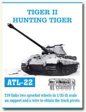 Friulmodel Metal Tracks for 1/35 German Tiger II/Hunting Tiger 210 links ATL-22