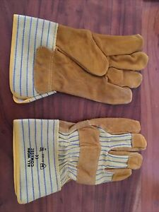 Mens Gardening Gloves Men Leather Heavy Duty Unisex Rigger More Available
