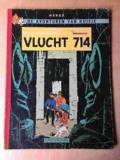 Kuifje 22 - Vlucht 714 - 1e druk (1969)