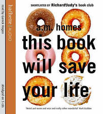 Brand new sealed 5CD Audio book - This Book Will Save Your Life, A. M. Homes
