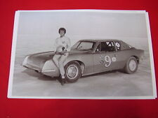 1963 STUDEBAKER AVANTI RACE CAR PAULA MURPHY SPEED RECORD 11 X 17  PHOTO PICTURE