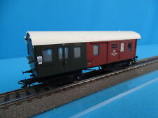 Marklin 43080 KPEV Langenschwalbacher bagage car green-brown LIGHTED