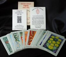 ALEISTER CROWLEY THOTH TAROT in Box w/ Booklet 1978