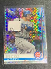 ANTHONY RIZZO 2019 TOPPS CHROME XFRACTOR #130 CHICAGO CUBS