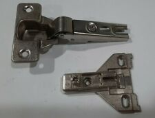 MEPLA Hinge, 699.350.53.00,  Full Overlay,  w/ 546.290.54/00 Mounting Plate