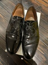 Common Projects Derby Black Leather Lace Ups Size 45/11