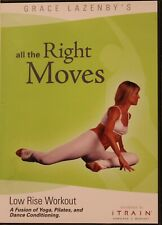 All the Right Moves Low Rise Workout Fitness Dvd Grace Lazenby yoga fusion dance