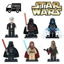 Lego Star Wars Mini Figures Jedi Vader Droids Yoda Building Republic Marvel Toy