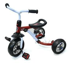 Br New Sturdy Toddler Kid Tricycle Ride on Trike with Suspensions Red