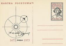 Poland prepaid postcard (Cp 501) COPERNICUS