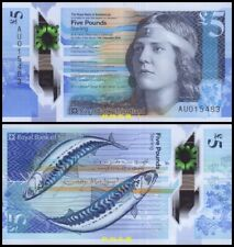 Scotland, Royal Bank of Scotland £5, (2016), Polymer, UNC