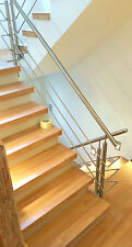 Treppen selbst renovieren, Stufenbeläge aus echtem Holz, Bausatz für Heimwerker