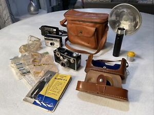 Vintage Argus C3 Camera Kit - With Two Additional Vintage Cameras