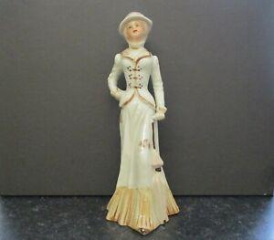 Vintage Porcelain Figurine Of a Victorian/Edwardian Lady