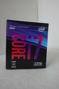 Intel Core i7-8700 3.2 GHz 6-Core LGA 1151 Processor