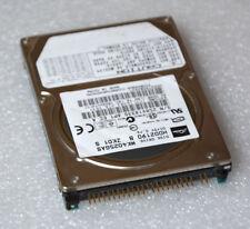 """2,5 """" 6,35cm Hard Drive Disk HDD toshiba MK4025GAS HDD2190 100% Ok F62"""