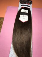"""Jazz Wave Collection_100% Remy Human Hair 16""""_#4_Clip_On Extension_5_Pcs"""