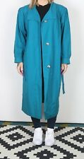 Trench Coat Raincoat Mac PETITE UK 12-14 Long   (KCF)