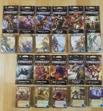 Warhammer 40,000 Conquest LCG Warlord/Planetfall War Packs - Pick Four!