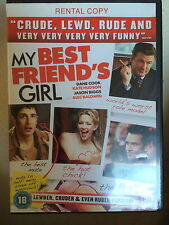 Kate Hudson Dane Cook MY BEST FRIEND'S GIRL ~ 2008 Cult Romcom UK DVD