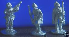 SHQ IS05B 1/76 Diecast WWII Italian LMG Group-Three Advancing