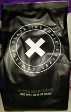 (9) -  BLACK INSOMNIA WHOLE BEAN COFFEE 1 LB BAGS, Strongest Coffee