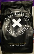 2 - Black Insomnia Whole Bean Coffee 1 Lb Bags, Strong Coffee