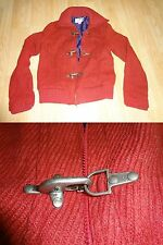 Womens M Xhileration Coat Heavy Sweater Jacket Red Wool
