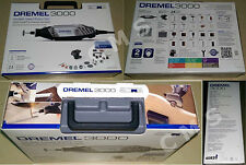 DREMEL 3000-1/24 Variable Speed Rotary Tool Was 395 + Accessories Bosch NIB 120V
