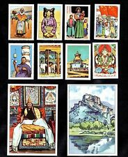 Life In Tibet Nestle 1957 Card Set Lhasa China Buddha Communist March Temple